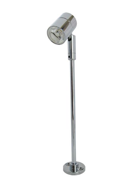 LEDスタンドライト クローム20cm